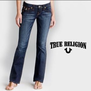 True Religion jeans Becky boot cut EUC 25